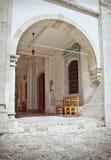 Asiento de la iglesia Imagenes de archivo