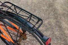 Asiento del asiento trasero de motocicleta de la bicicleta Fotografía de archivo