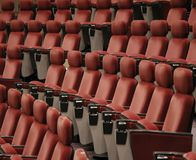Asiento del auditorio Fotografía de archivo libre de regalías