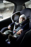 Asiento del bebé Fotos de archivo libres de regalías