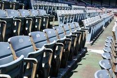 Asiento del estadio Imagenes de archivo