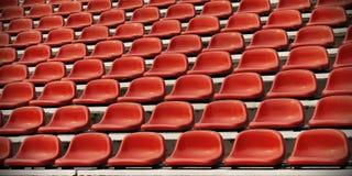 Asiento del estadio de los deportes Fotografía de archivo libre de regalías