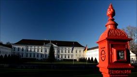 Asiento del palacio de Bellevue del presidente federal en Berlín, Alemania