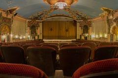 Asiento en teatro del vintage Imagenes de archivo