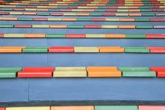 Asientos coloreados multi Imagen de archivo libre de regalías