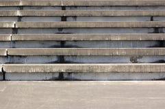 Asientos concretos del anfiteatro Fotografía de archivo libre de regalías