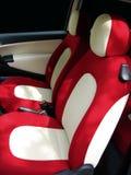Asientos de coche coloridos fotos de archivo libres de regalías