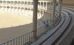 Asientos de la plaza de toros Imagen de archivo
