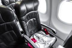 Asientos del aeroplano imagen de archivo libre de regalías