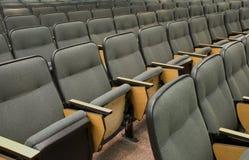 Asientos del auditorio Fotos de archivo libres de regalías