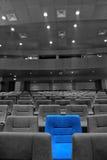 Asientos del cine Foto de archivo libre de regalías