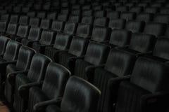 Asientos del cine Fotos de archivo