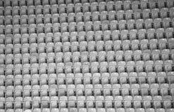 Asientos del estadio imagen de archivo