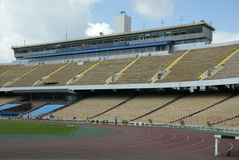 Asientos del estadio Fotos de archivo libres de regalías