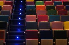Asientos del teatro Fotografía de archivo