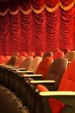 Asientos del teatro Fotografía de archivo libre de regalías