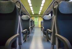 asientos del tren Fotografía de archivo libre de regalías