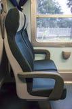 asientos del tren Fotos de archivo libres de regalías