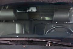 Asientos delanteros en coches Imagenes de archivo