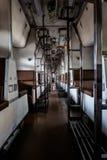Asientos en trenes Foto de archivo libre de regalías