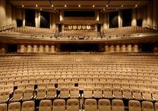 Asientos en un teatro Imagen de archivo libre de regalías
