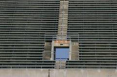 Asientos vacíos del estadio Imágenes de archivo libres de regalías