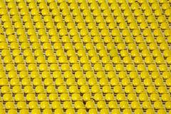 Asientos vacíos rojos del estadio Imagen de archivo