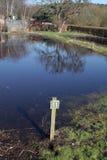 Asignación de la inundación Foto de archivo libre de regalías