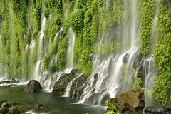 Asik-Asik Falls Royalty Free Stock Photography
