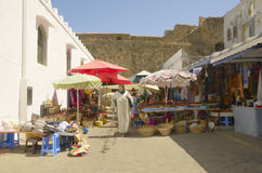 Asilah market Royalty Free Stock Photography