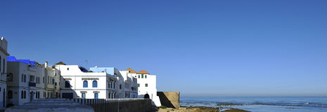 Asilah Old Medina Panorama Royalty Free Stock Images