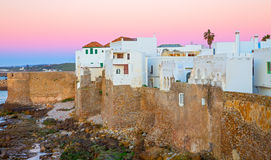 Asilah sunset Stock Photos