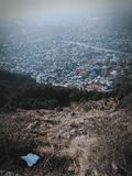 Asile du Cachemire sur terre Images stock