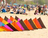 Asile grand Michigan du festival 2015 de cerf-volant Image stock
