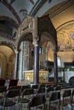 Asilica di Sant Ambrogio, altare dorato e ciborio Fotografia Stock Libera da Diritti