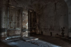 Asilo abandonado Fotografía de archivo libre de regalías