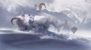Asilo del invierno Foto de archivo libre de regalías