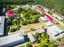 Asilo excêntrico clínico regional de Tyumen Foto de Stock
