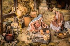 Asilo nido di Natale immagine stock