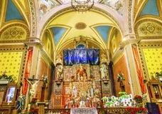 Asilo nido Templo de Belen Temple Belen Guanajuato Mexico dell'altare Fotografia Stock Libera da Diritti