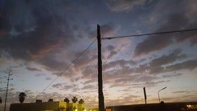 asilo nublado por la tarde imagen de archivo libre de regalías