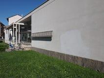 Asilo St Elia幼儿园在科莫 免版税库存照片