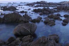 Asilomar State Park beach, near Monterey, California, USA Royalty Free Stock Photos