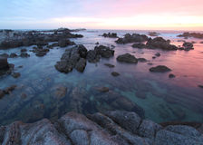 Asilomar State Park beach, near Monterey, California, USA Royalty Free Stock Image