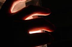 Asimiento de la mano Fotos de archivo libres de regalías