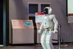 Asimo, el robot del humanoid Fotos de archivo