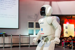 Asimo, the humanoid robot Stock Photo