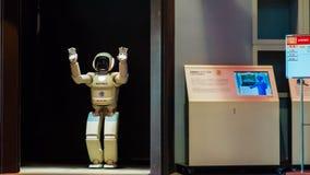 Asimo, the humanoid robot Royalty Free Stock Photography