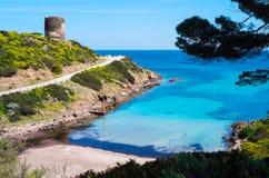 Asinara wyspa w Sardinia, Włochy fotografia stock