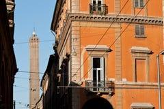 Asinelli башни болонья Италии Стоковое Фото